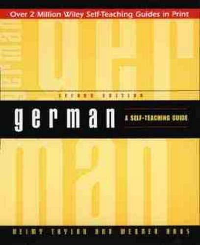 9780471157045: German: A Self-Teaching Guide (Wiley Self–Teaching Guides)