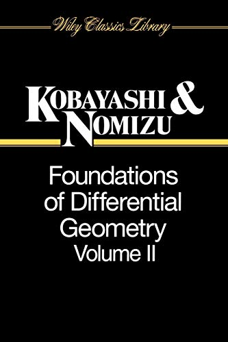 9780471157328: Foundations of Differential Geometry, Vol. 2