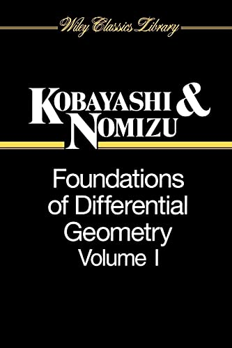 9780471157335: Foundations of Differential Geometry: 1