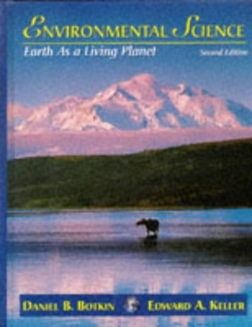 9780471157823: Environmental Science: Earth As a Living Planet