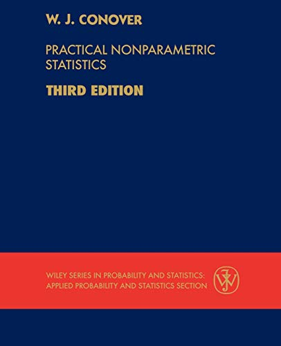 9780471160687: Practical Nonparametric Statistics (Wiley Series in Probability and Statistics)