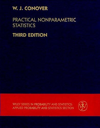 Practical Nonparametric Statistics, 3rd: W. J. Conover