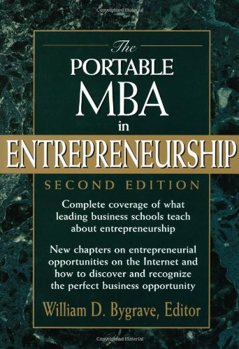 The Portable MBA in Entrepreneurship, 2nd Edition