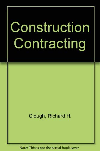 9780471161059: Construction contracting