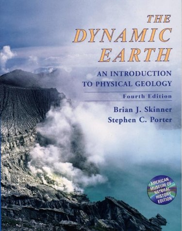 9780471161189: The Dynamic Earth: An Introduction to Physical Geology