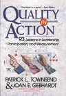 9780471161363: Quality in Action: 93 Lessons in Leadership, Participation, and Measurement