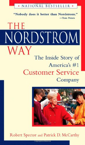 9780471161608: The Nordstrom Way: The Inside Story of America's Number 1 Customer Service Company