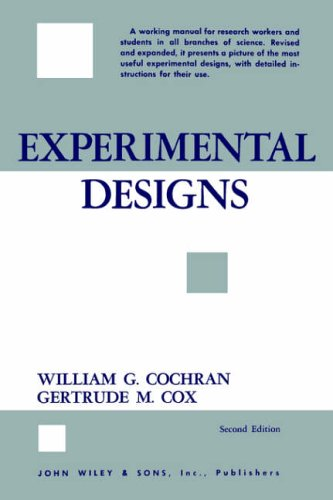 9780471162032: Experimental Designs (Wiley Series in Probability and Statistics)