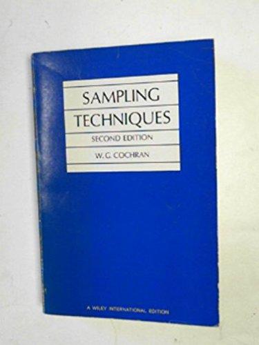 9780471162391: Sampling Techniques