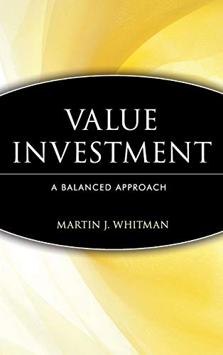 9780471162926: Value Investing: A Balanced Approach (Frontiers in Finance Series)