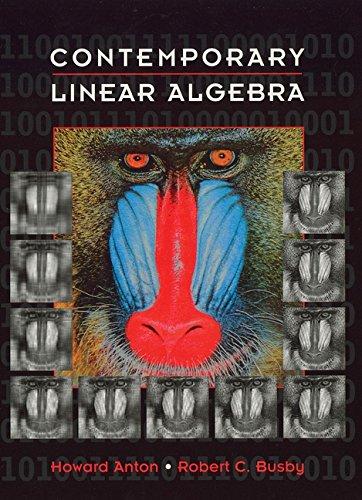 9780471163626: Contemporary Linear Algebra