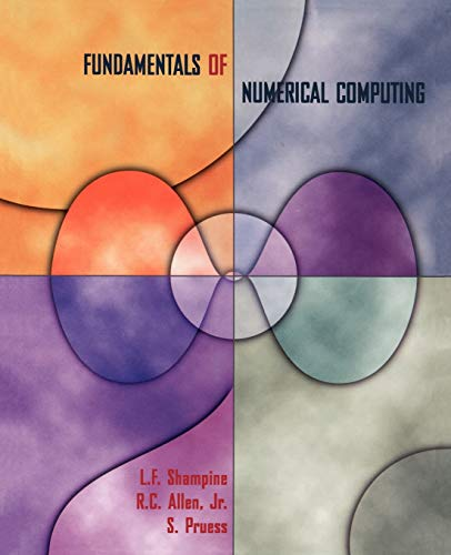 9780471163633: Fundamentals of Numerical Computing