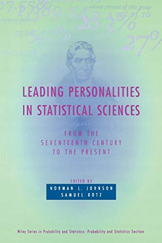 9780471163817: Personalities in Statistical Sciences: From the Seventeenth Century to the Present: 312 (Wiley Series in Probability and Statistics)