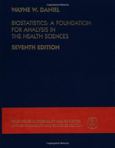 9780471163862: Biostatistics: A Foundation for Analysis in the Health Sciences (Wiley Series in Probability and Statistics)
