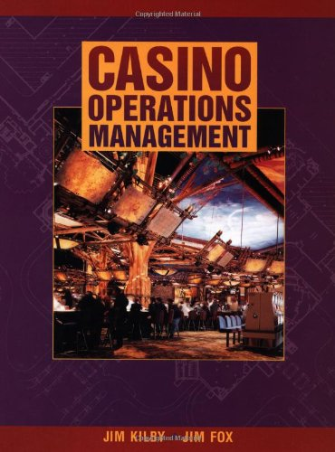 9780471163909: Casino Operations Management