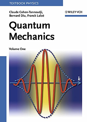 9780471164333: Quantum Mechanics, Vol. 1