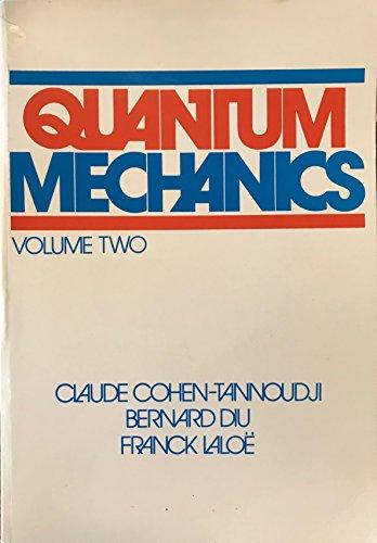 9780471164340: Quantum Mechanics: Volume II