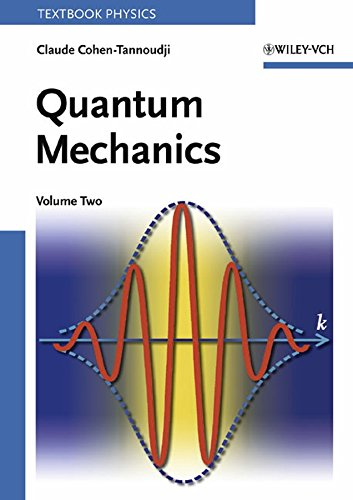 9780471164357: 002: Quantum Mechanics, Volume 2: Vol 2 (A Wiley-Interscience Publication)