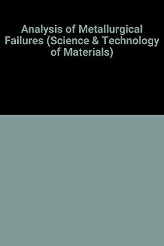Analysis of Metallurgical Failures: F. A. Heiser;