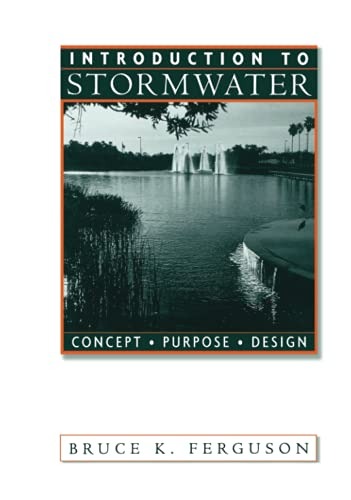 Introduction to Stormwater: Concept, Purpose and Design