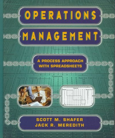 9780471165453: Operations Management: A Process Approach with Spreadsheets