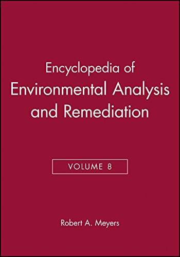 9780471166290: Encyclopedia of Environmental Analysis and Remediation, Volume 8 (Wiley Encyclopedia Series in Environmental Science)