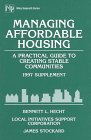9780471167679: Managing Affordable Housing, 1997 Supplement: A Practical Guide to Creating Stable Communities (Wiley Nonprofit Law, Finance and Management Series)