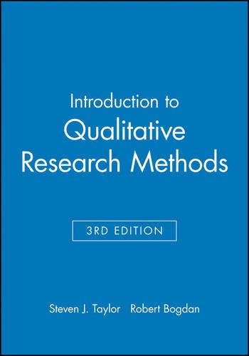 9780471168683: Introduction to Qualitative Research Methods