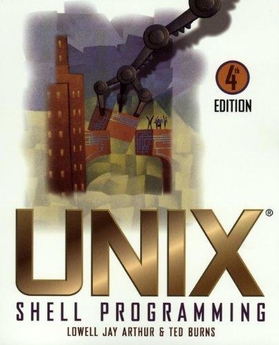 9780471168942: Unix Shell Programming