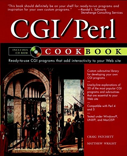 9780471168966: The Cgi/Perl Cookbook