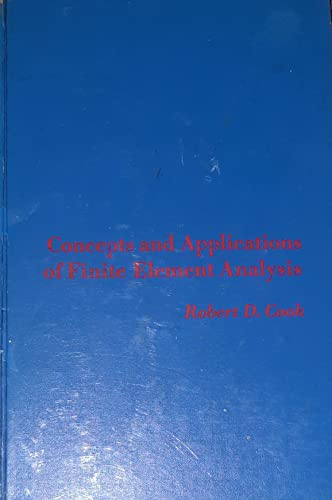 9780471169154: Concepts and Applications of Finite Element Analysis