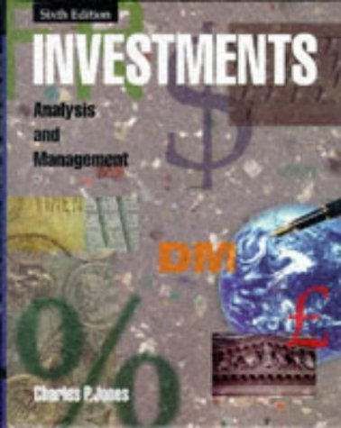 9780471169598: Investments: Analysis and Management