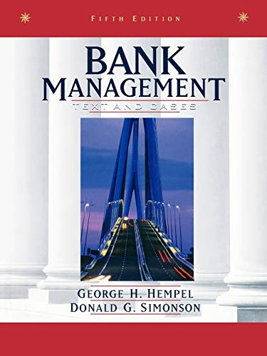 9780471169604: Bank Management 5e
