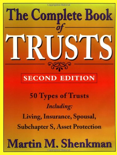 9780471170440: The Complete Book of Trusts
