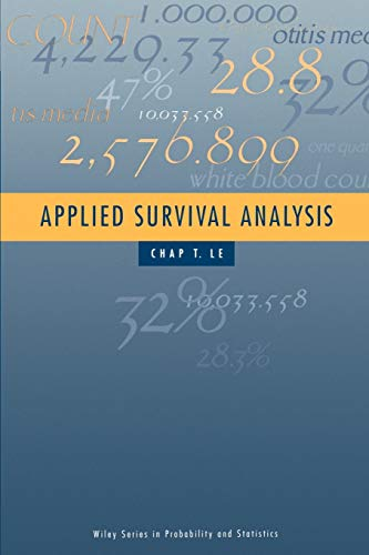 9780471170853: Applied Survival Analysis (Wiley Series in Probability and Statistics)
