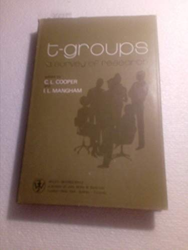9780471171225: T-groups: A Survey of Research