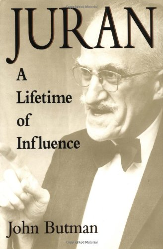 9780471172109: Juran: A Lifetime of Influence