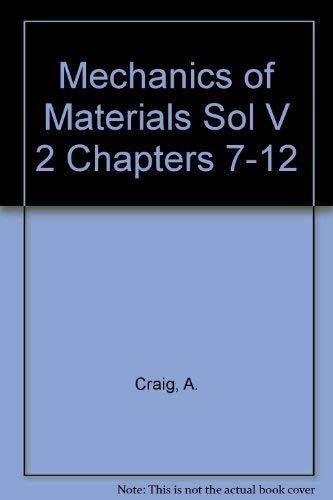 mechanics of materials roy craig solution manual