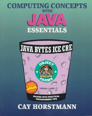 9780471172239: Computing Concepts with Java Essentials