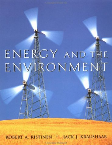 9780471172482: Energy and the Environment