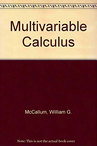 9780471173540: Multivariable Calculus