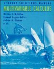 Multivariable Calculus, Student Solutions Manual: Guadalupe I. Lonzano,