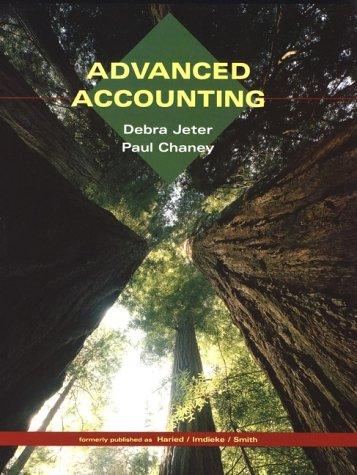 9780471173977: Advanced Accounting