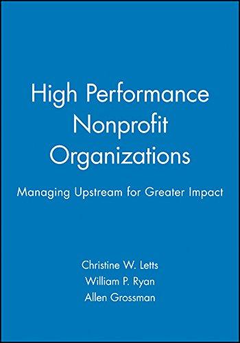 9780471174578: High Performance Nonprofit Organizations