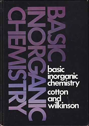 9780471175575: Basic Inorganic Chemistry