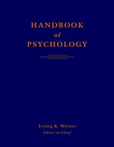 9780471176695: Handbook of Psychology