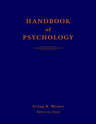 Handbook of Psychology, 12 Volume Set