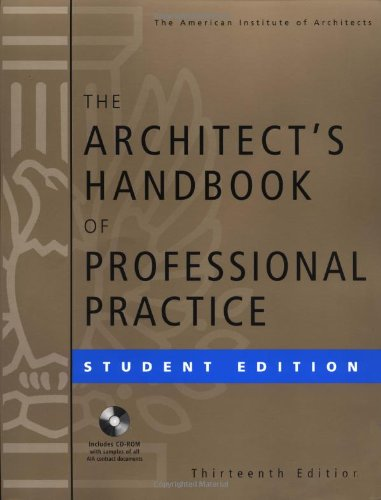 9780471176725: The The Architect's Handbook of Professional Practice: The Architect's Handbook of Professional Practice, Student Edition Student Edition (Architecture Student's Handbook of Professional Practice)
