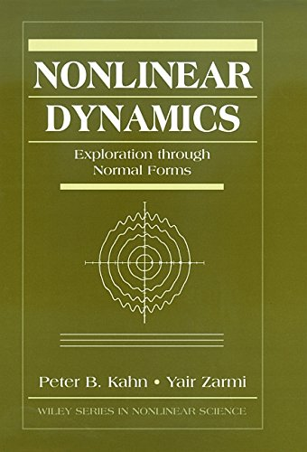 9780471176824: Nonlinear Dynamics: Exploration Through Normal Forms (Wiley Series in Nonlinear Science)
