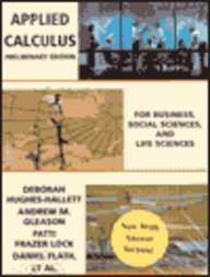 9780471177029: Applied Calculus: For Business, Social Sciences, and Life Sciences : With Answer Section